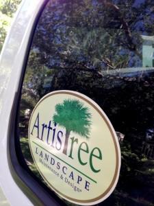 ArtisTree fleet truck