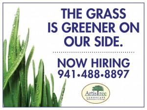 Grass is Greener - ArtisTree