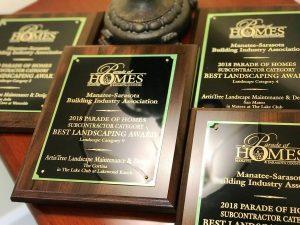 ArtisTree Landscape 2018 awards