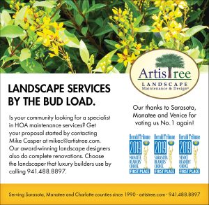ArtisTree thanks Sarasota Manatee