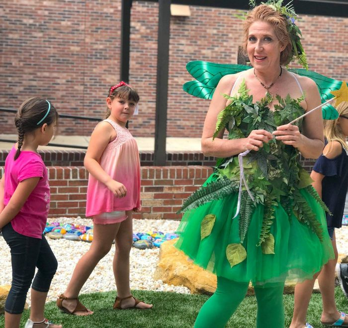PLant Fairy with children learning