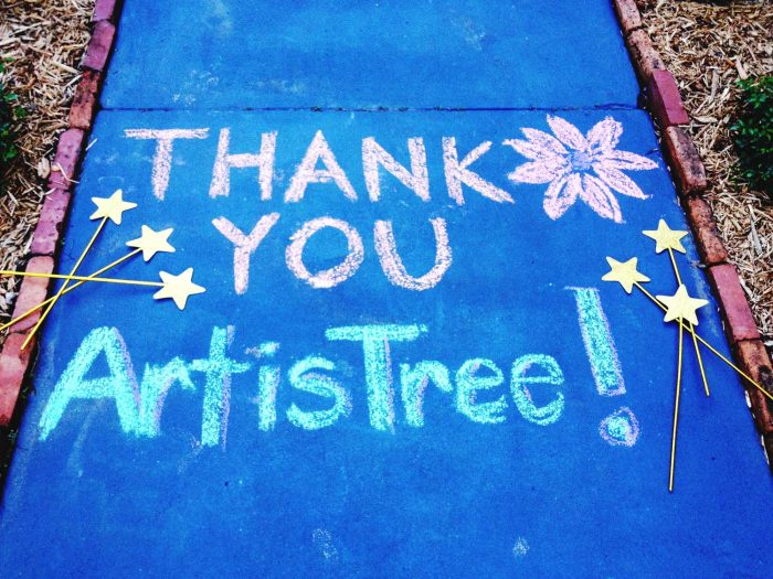 Thank you ArtisTree chalk