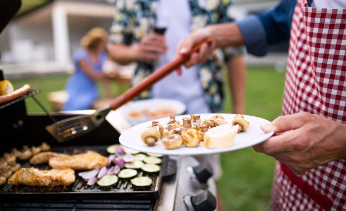 ArtisTree employees grilling outside more during COVID